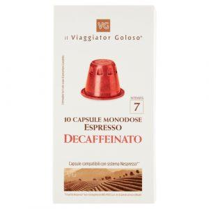10 Capsule Monodose Espresso Decaffeinato