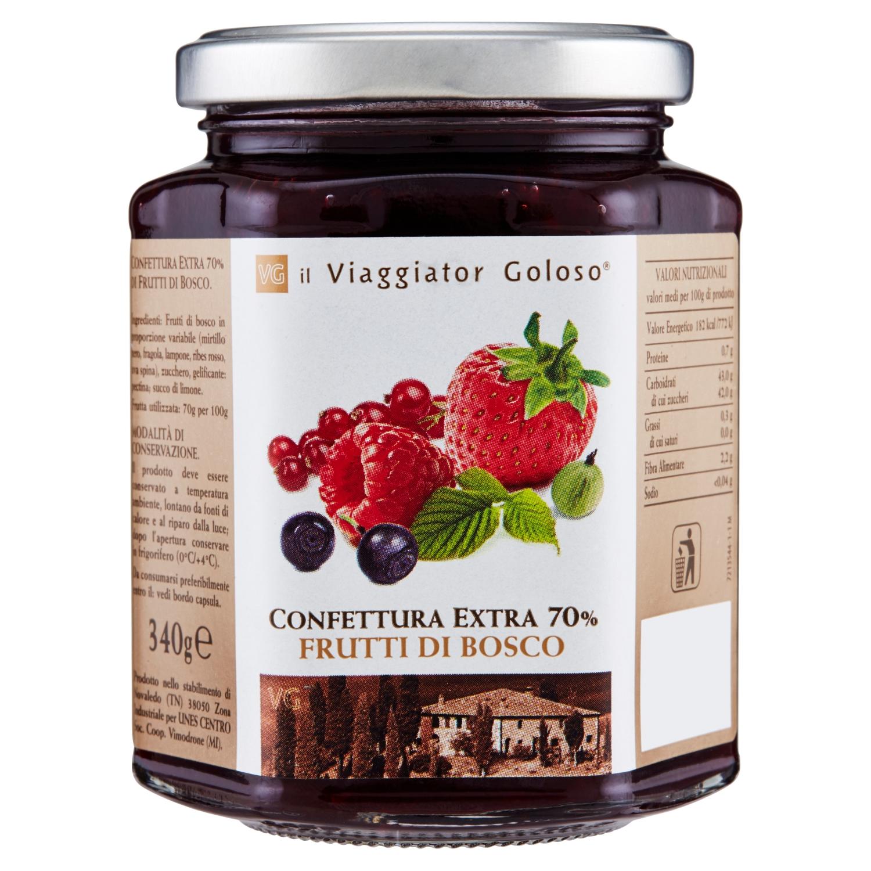 Confettura Extra 70% Frutti Di Bosco
