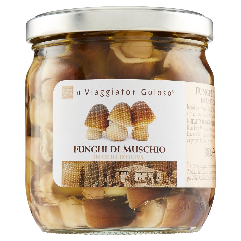 Funghi di muschio in olio di oliva 380gr
