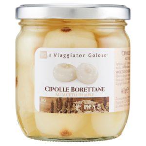 Cipolle Borettane All' Aceto Di Mele Gr 400