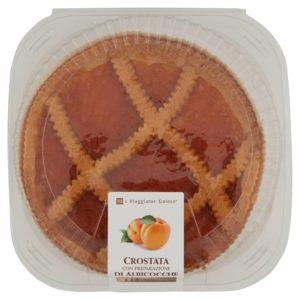 Crostata Con Preparazione Di Albicocche
