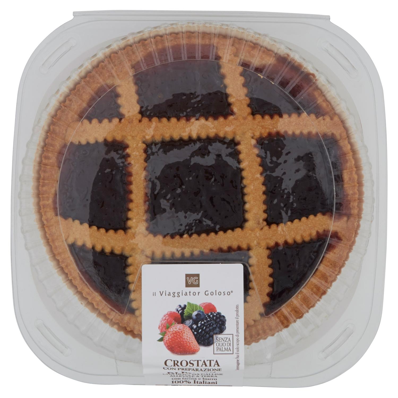 Crostata Con Preparazione Di Frutti Di Bosco