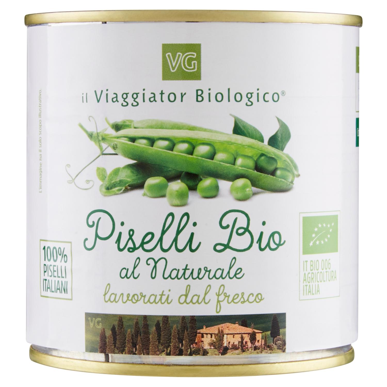 Piselli Al Naturale Bio Il Viaggiator Biologico