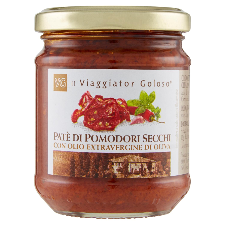 Pate' Di Pomodori Secchi Con Olio Extravergine Di Oliva