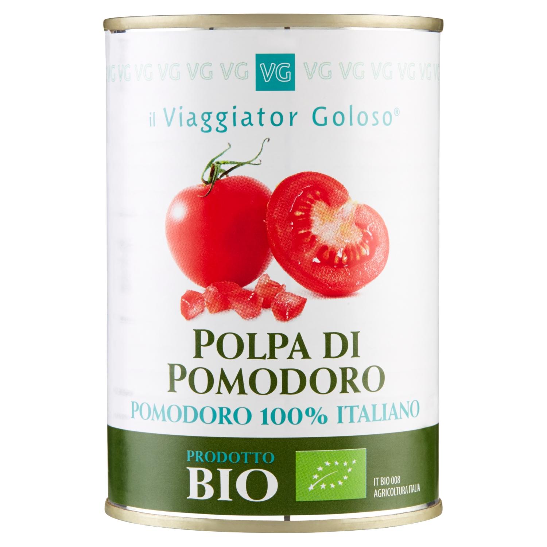 Polpa Di Pomodoro 100%Italiano Bio 400gr