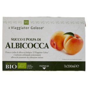 Succo E Polpa Di Albicocca 3X200Ml Bio