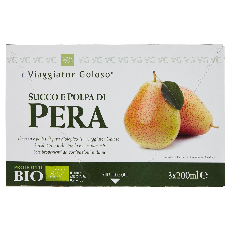 Succo E Polpa Di Pera  3X200Ml Bio