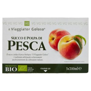 Succo E Polpa Di Pesca 3X200Ml Bio
