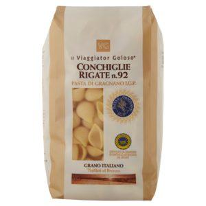 Conchiglie rigate n.92 pasta di Gragnano IGP