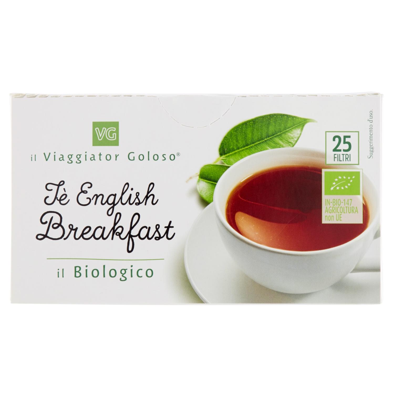 Te' English Breakfast 25 Filtri Il Biologico