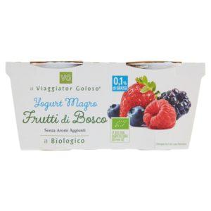 Yogurt Magro Frutti Di Bosco Il Biologico