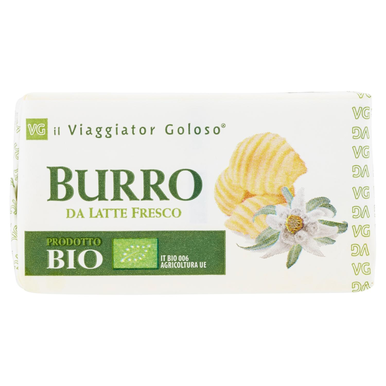 Burro da latte fresco prodotto Bio