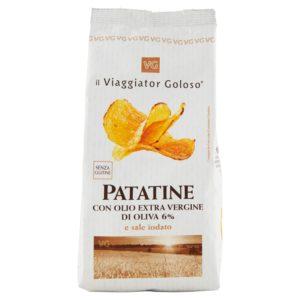 Patatine Con Olio Extra Vergine Di Oliva 6% E Sale Iodato