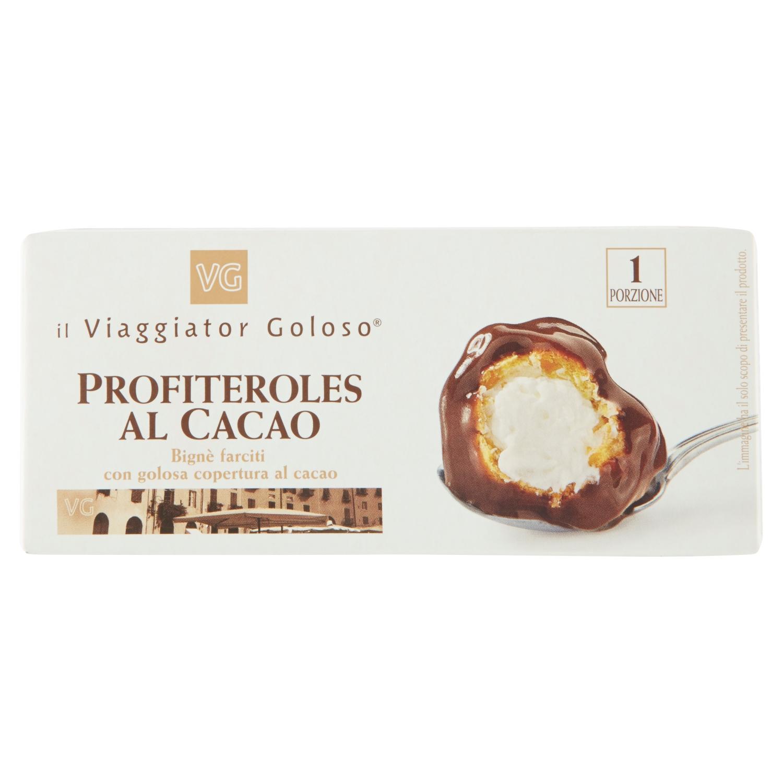 Profiteroles Al Cacao Monoporzione