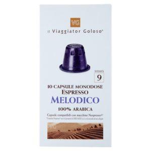 Espresso Melodico 10 Capsule Compatibili Con Macchine Nespresso