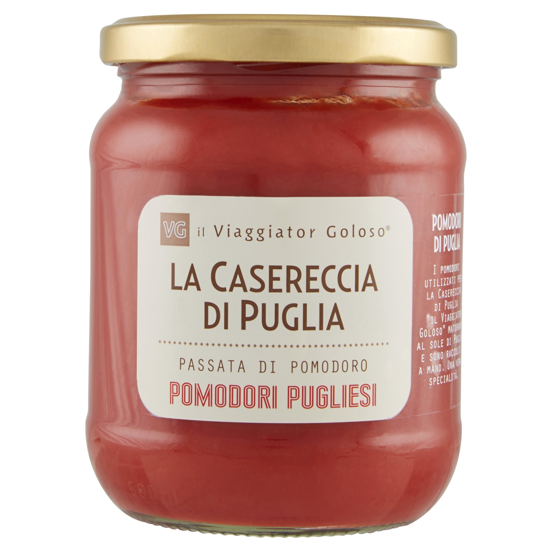 La casereccia di Puglia passata di pomodoro