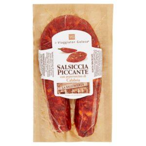 Salsiccia Piccante Con Peperoncino Di Calabria