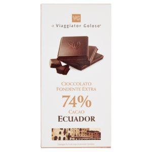 Cioccolato Fondente Extra 74% Cacao Ecuador