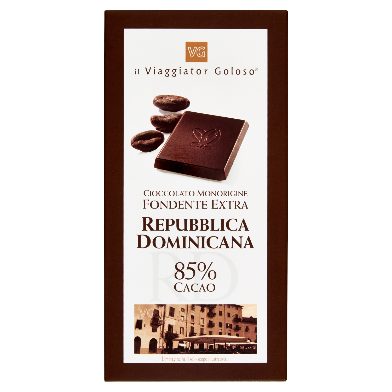 Cioccolato Monorigine Fondente Extra Repubblica Dominicana 85%Cacao