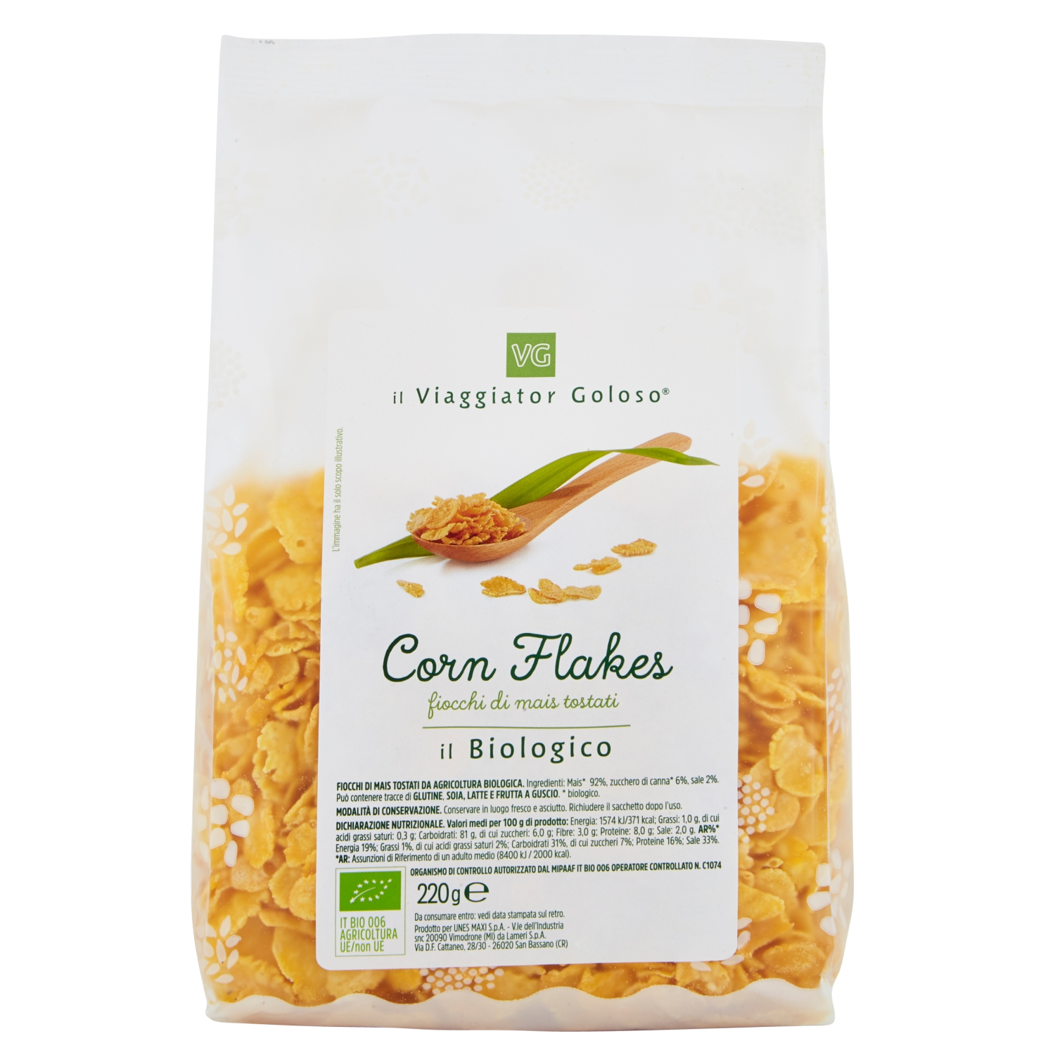 Corn Flakes Il Biologico