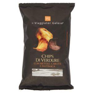 Chips Di Verdure Con Bietole, Carote E Pastinaca