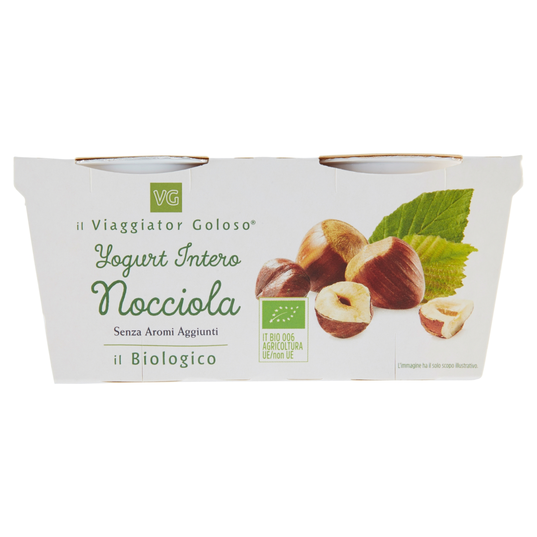 Yogurt Intero Nocciola Il Biologico