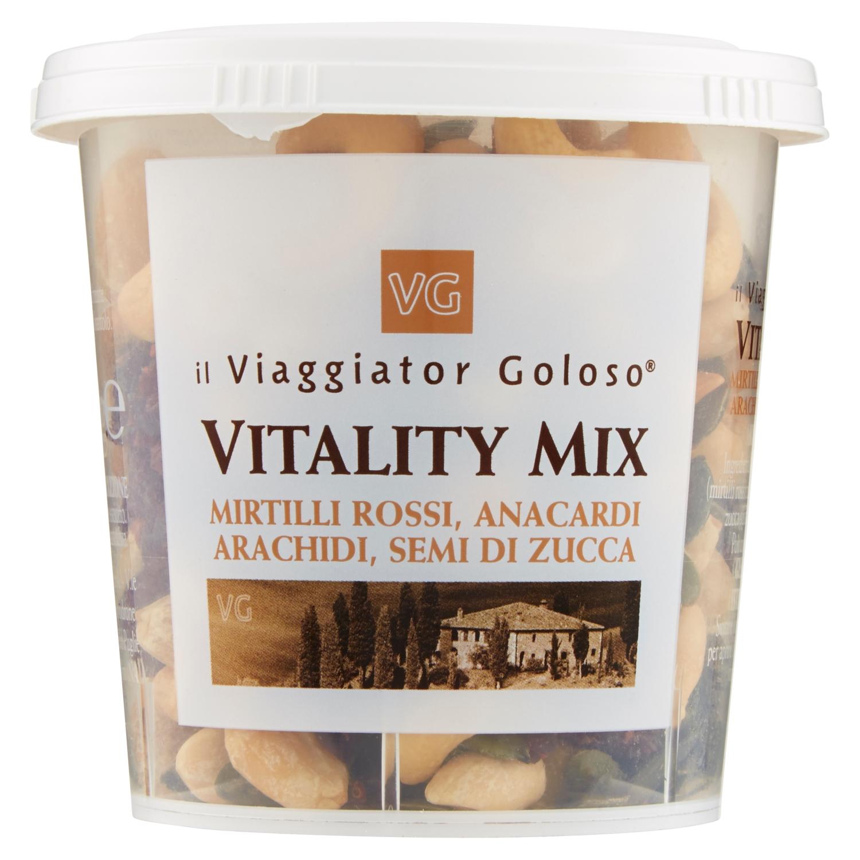 Vitality mix mirtilli rossi, anacardi, arachidi, semi di zucca