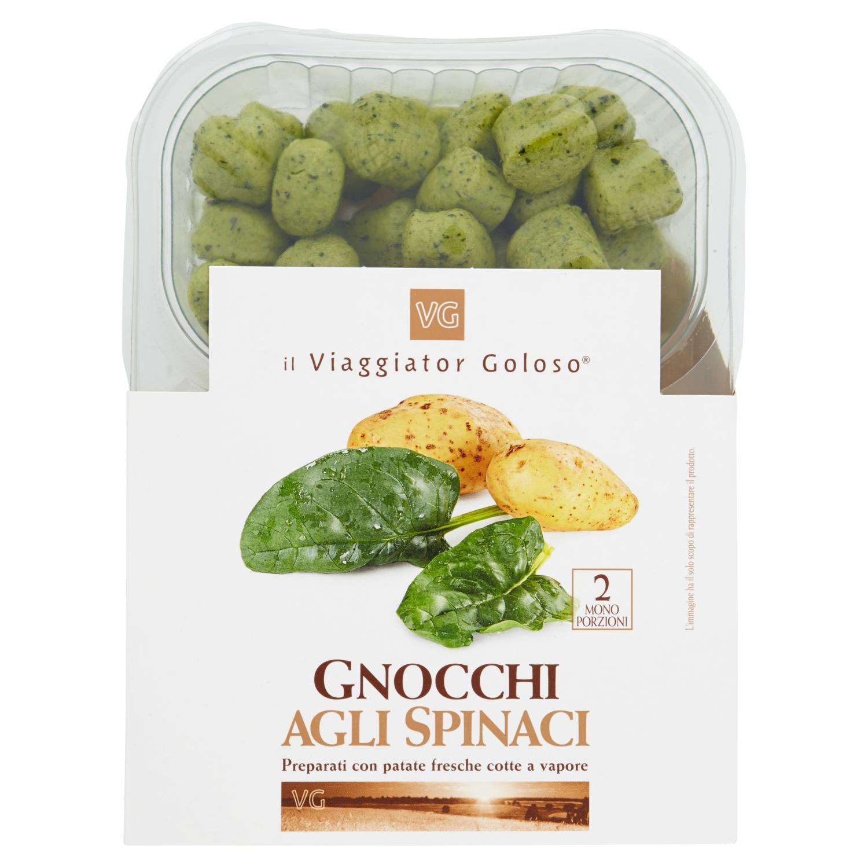 Gnocchi agli spinaci