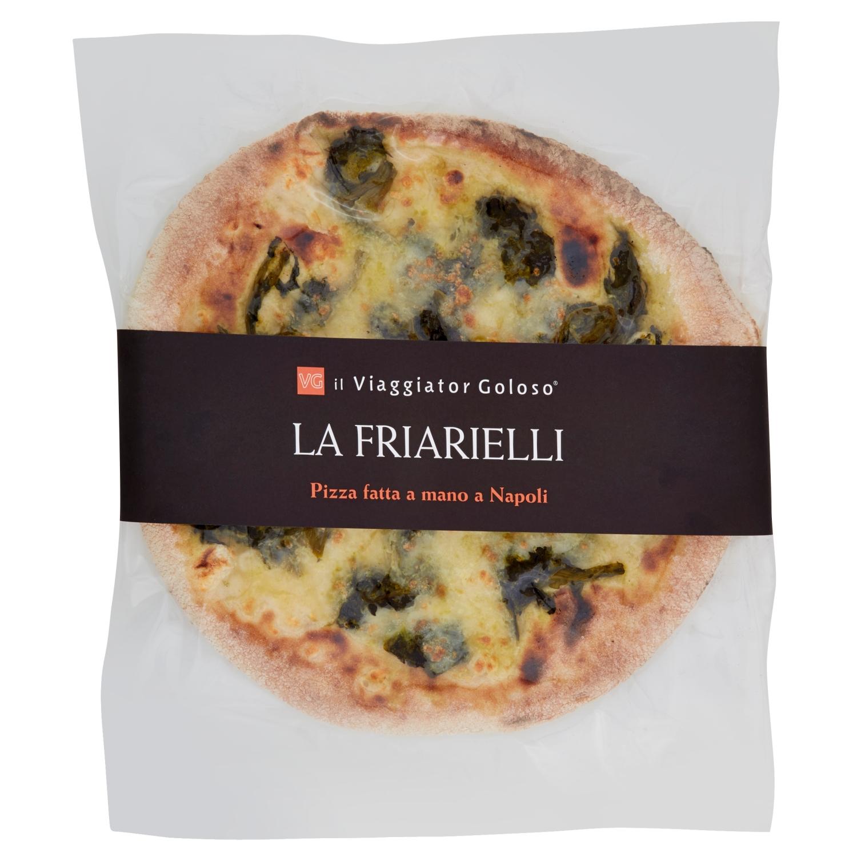 La Friarielli Pizza Fatta A Mano A Napoli