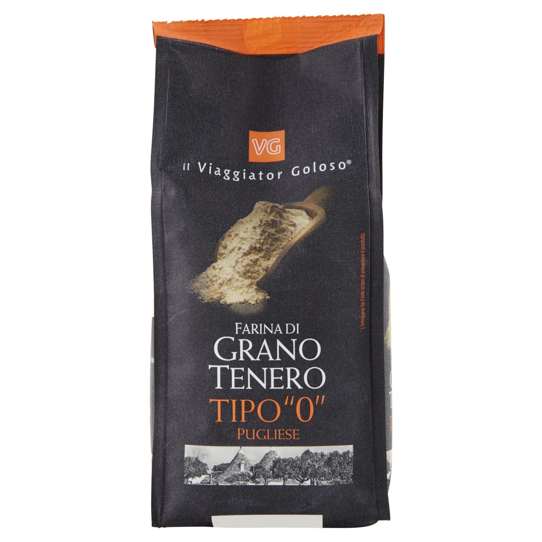 """Farina di grano tenero tipo """"0"""" pugliese"""