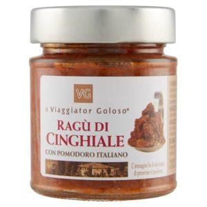 Ragù di cinghiale con pomodoro italiano