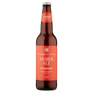 Birra Amber Ale artigianale