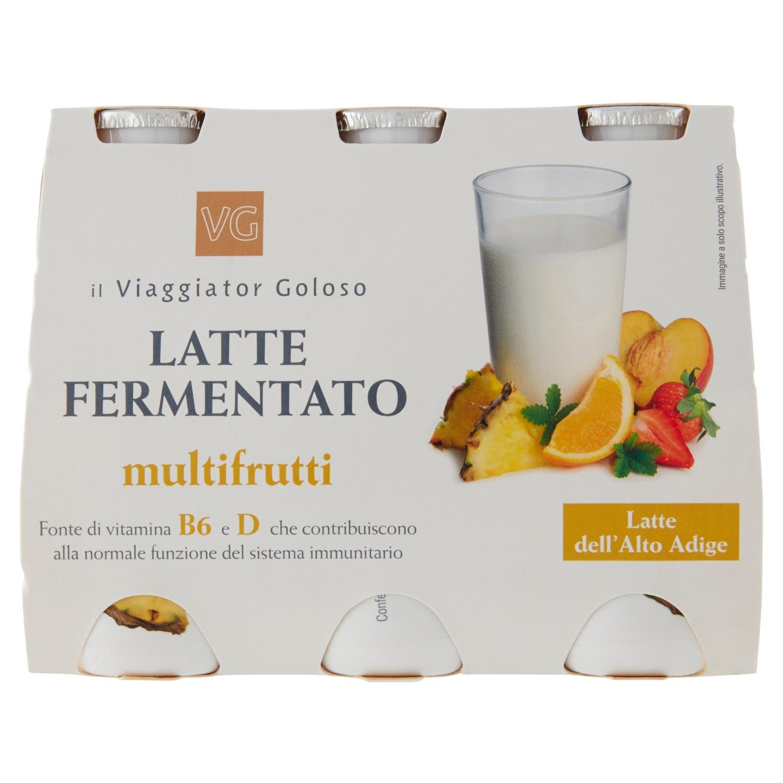 Latte fermantato multifrutti