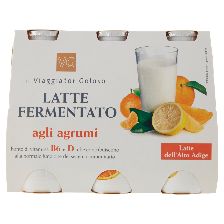 Latte Fermentato Agli Agrumi