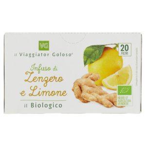 Infuso di zenzero e limone il Biologico