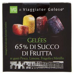 Gelées 65% di succo di frutta