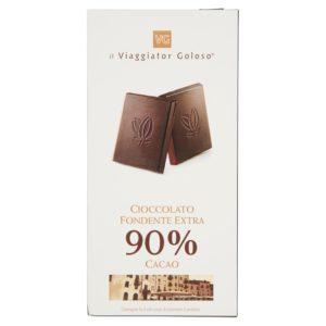 Cioccolato fondente extra 90% cacao