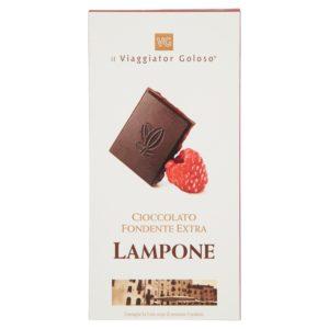 Cioccolato fondente extra lampone