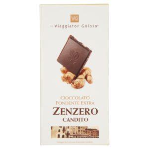Cioccolato fondente extra zenzero candito
