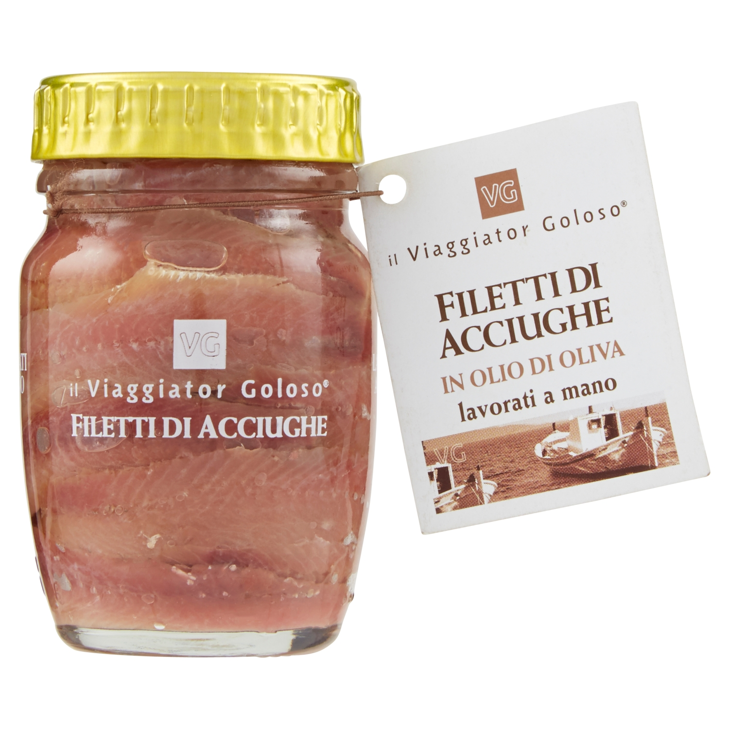 Filetti di acciughe 90g