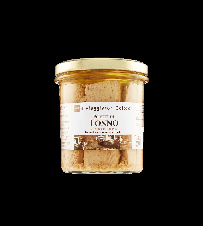Filetti di tonno in olio di oliva 305 Gr