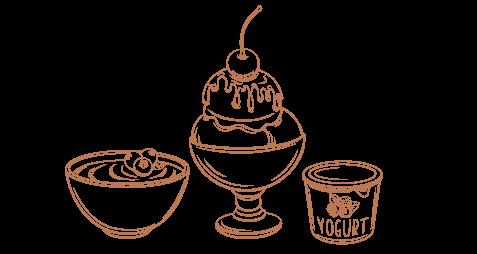 Yogurt e dessert pronti