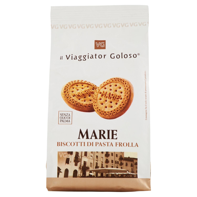 Marie biscotti di pasta frolla senza olio di palma