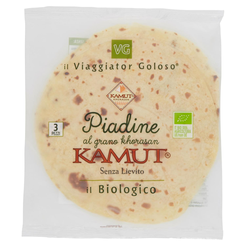 Piadine al Kamut il Biologico