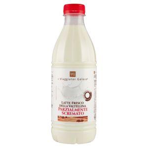 Latte fresco della Valtellina Parzialmente scremato