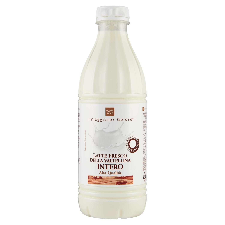 Latte fresco della Valtellina intero