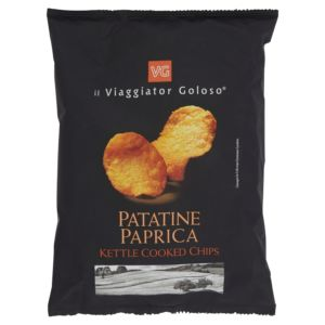 Patatine paprica kettle cooked chips il Viaggiator Goloso