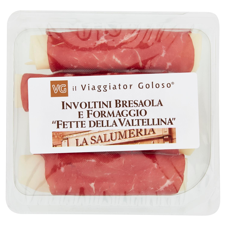 Involtini bresaola e formaggio