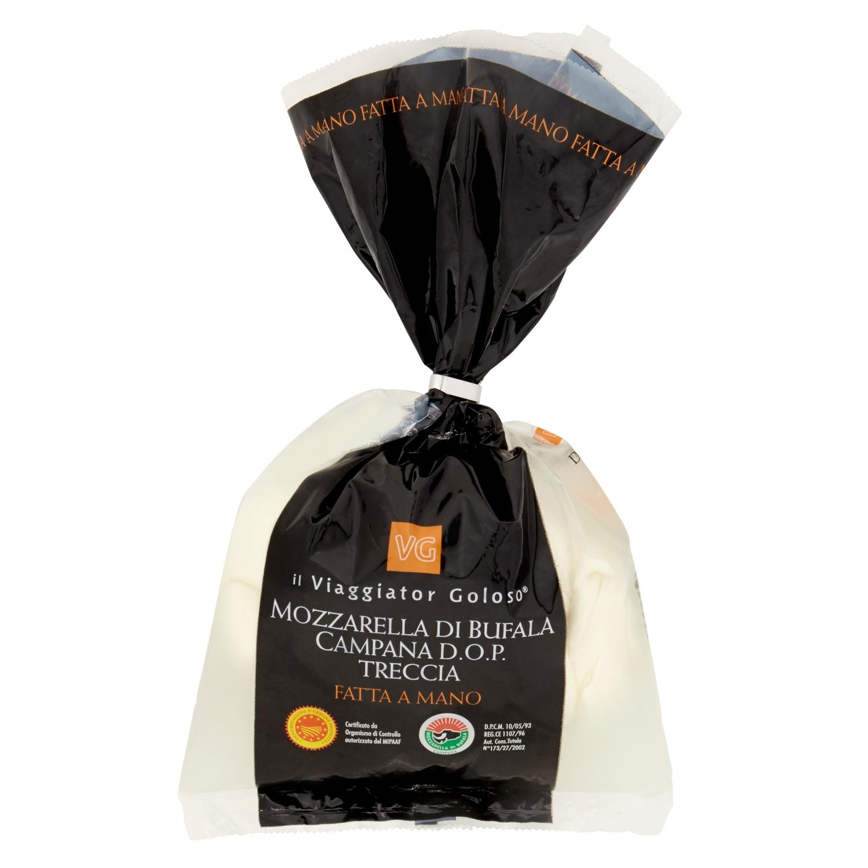 Mozzarella di bufala campana DOP Treccia