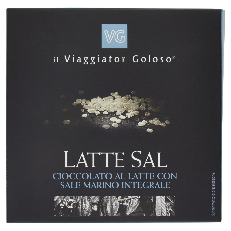 Latte Sal cioccolato al latte con sale marino integrale